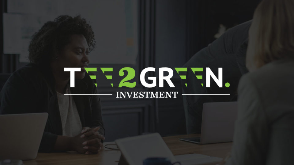 The Tee2Green Investment Logo