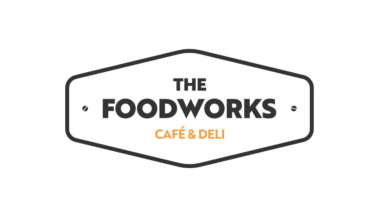 The final The Foodworks logo